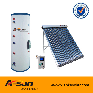 china jiaxing split and pressurized solar water heater
