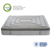 12 Inch Comfortable best high quality and sleepwell gel infused memory foam pocket spring mattress