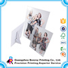 Carboard customized folding poster stand display board printing