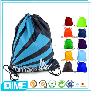 Fashion Denim Backpack With Draw String