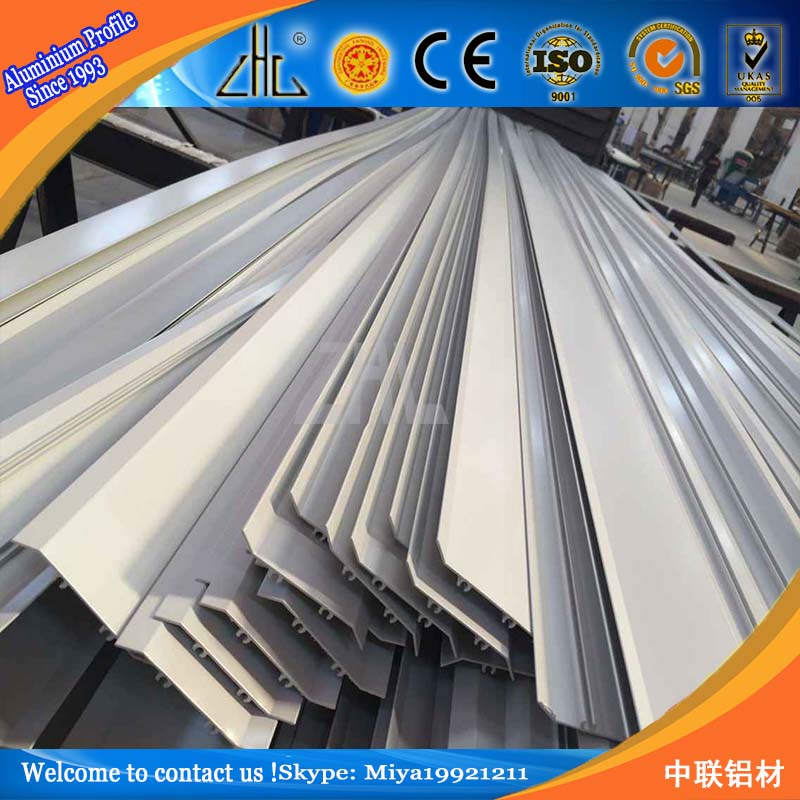 Large Scale Aluminum Extrusion Aluminium Oval Blade Louvres ...