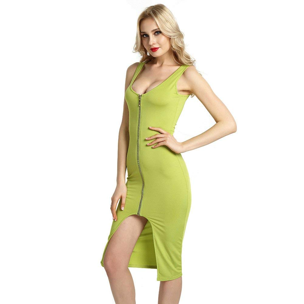 e9d20af7bc9 Get Quotations · Women Firm Sexy Waist Vest Split Dress Slim Shapewear  Sleeveless Bodysuit Body Shapers Dresses