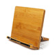 Adjust Different Height Foldable Bamboo Book Holder Cookbook Stand