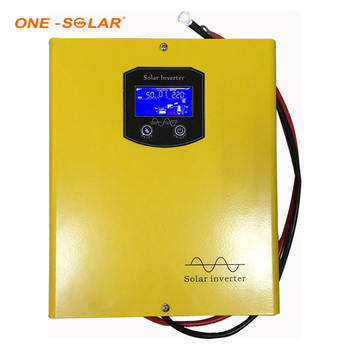 One Inverter Low Frequency 12V Pure Sine Wave 350W Hybrid Solar Power Inverter with Built in AC Charger 15A