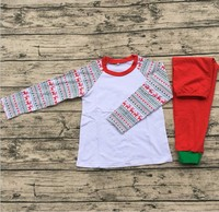 Reindeer pajamas for adults and kids hot sale baby clothes set winter fashion baby clothes set
