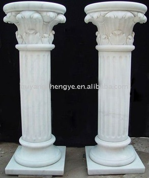 Indoor Decorative Columns Stone Column Base