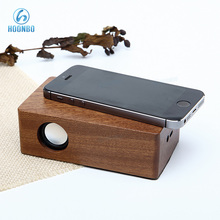 None Bluetooth Portable Wooden Induction Speaker