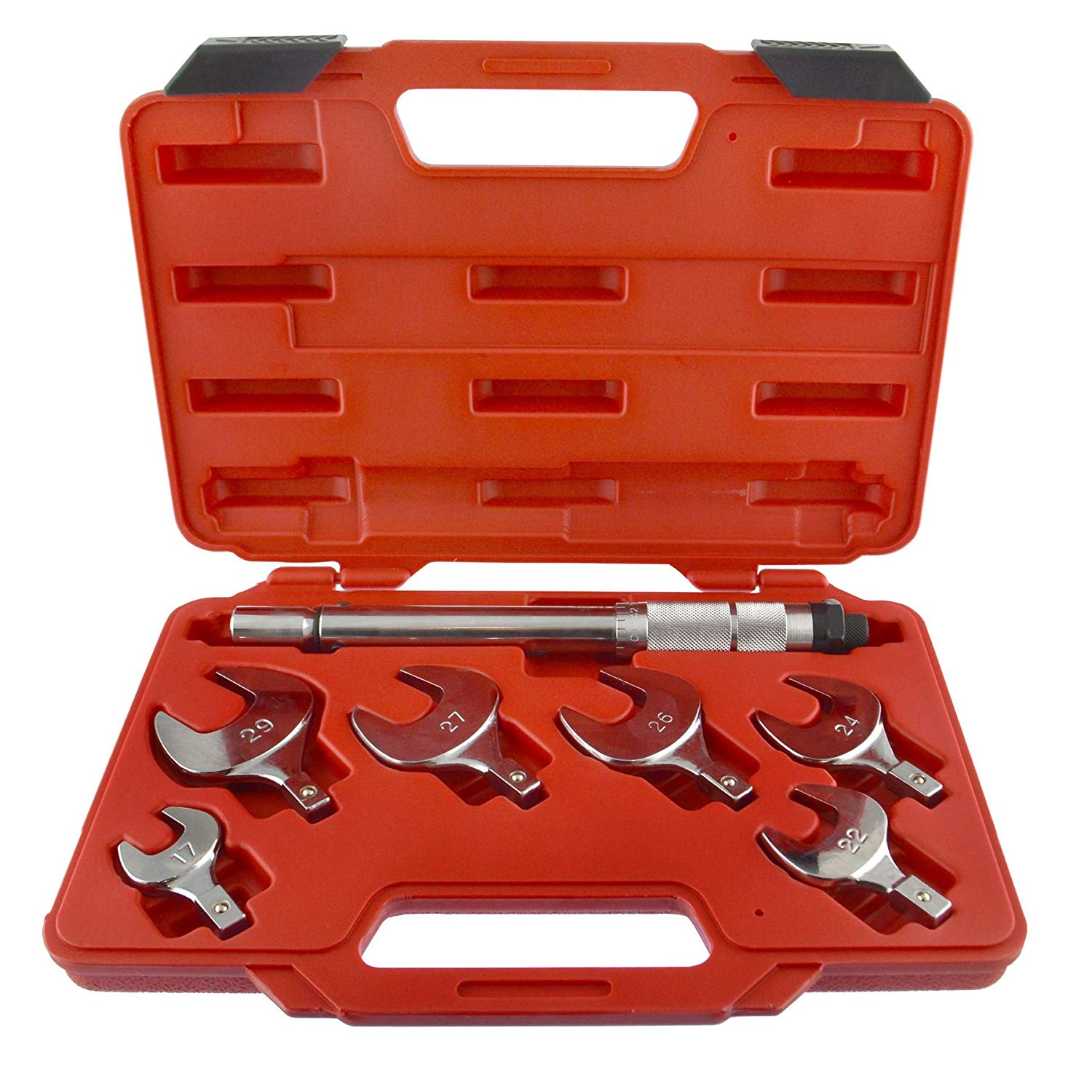 Interchangeable Torque Wrench Spanner Heads With Torque Control 17 - 29mm