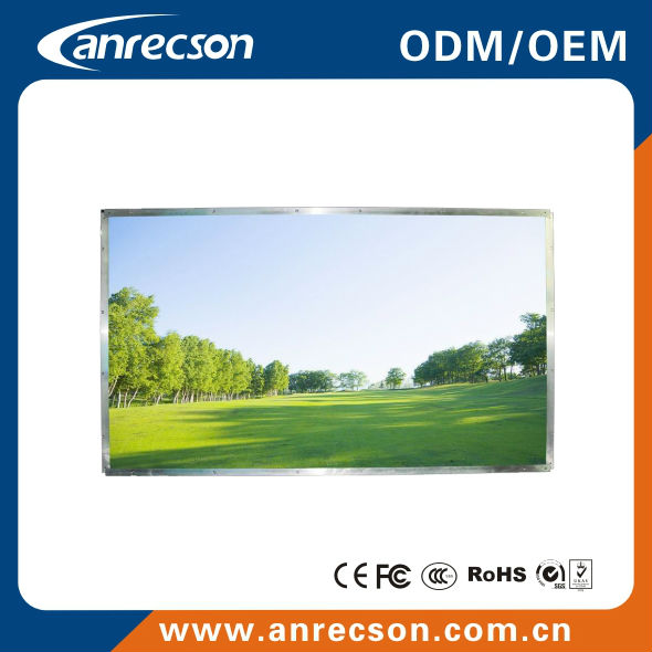 55 sunreadable high bright open frame lcd monitor
