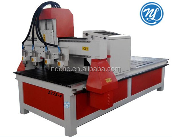 jinan jcut cnc equipment 1325 4 spindles