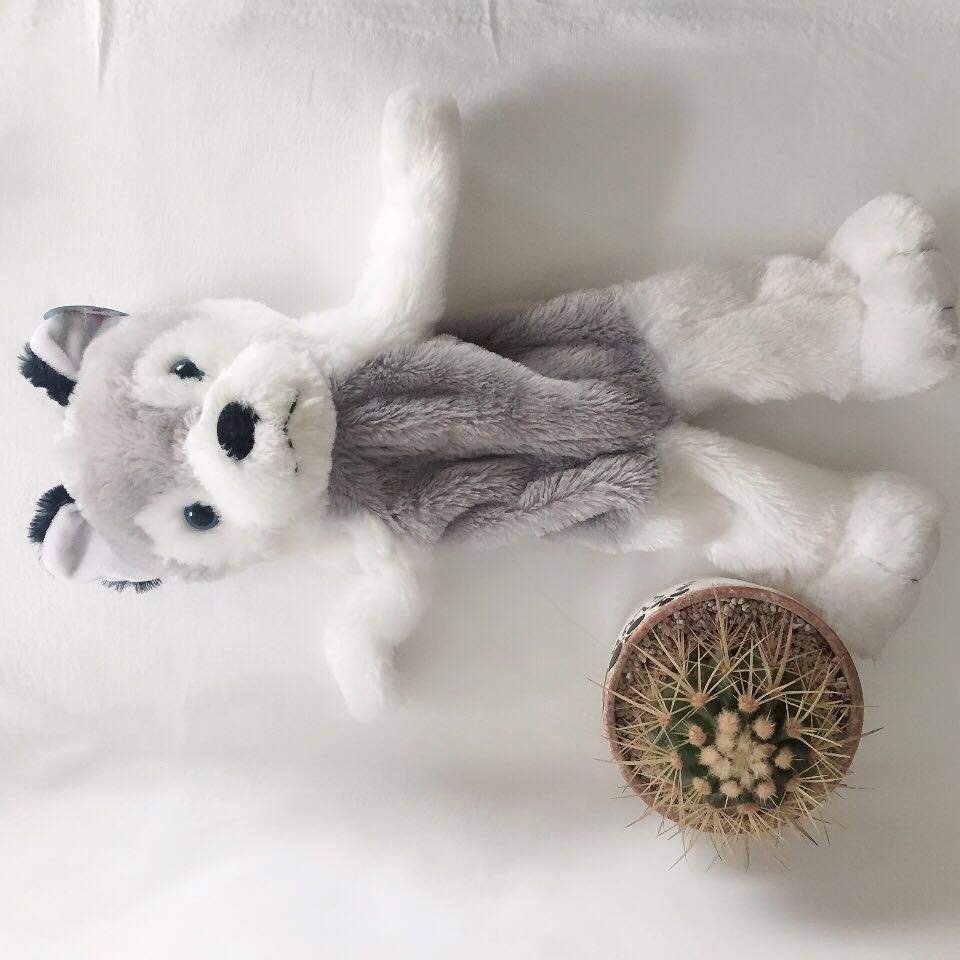 Plush Wolf Skin DIY toy