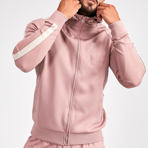 Mens Gym Tracksuit Hoodie Quick Dry Polyester Outfit Running Compression Hoodie Tights Men Sports Clothing Wholesale