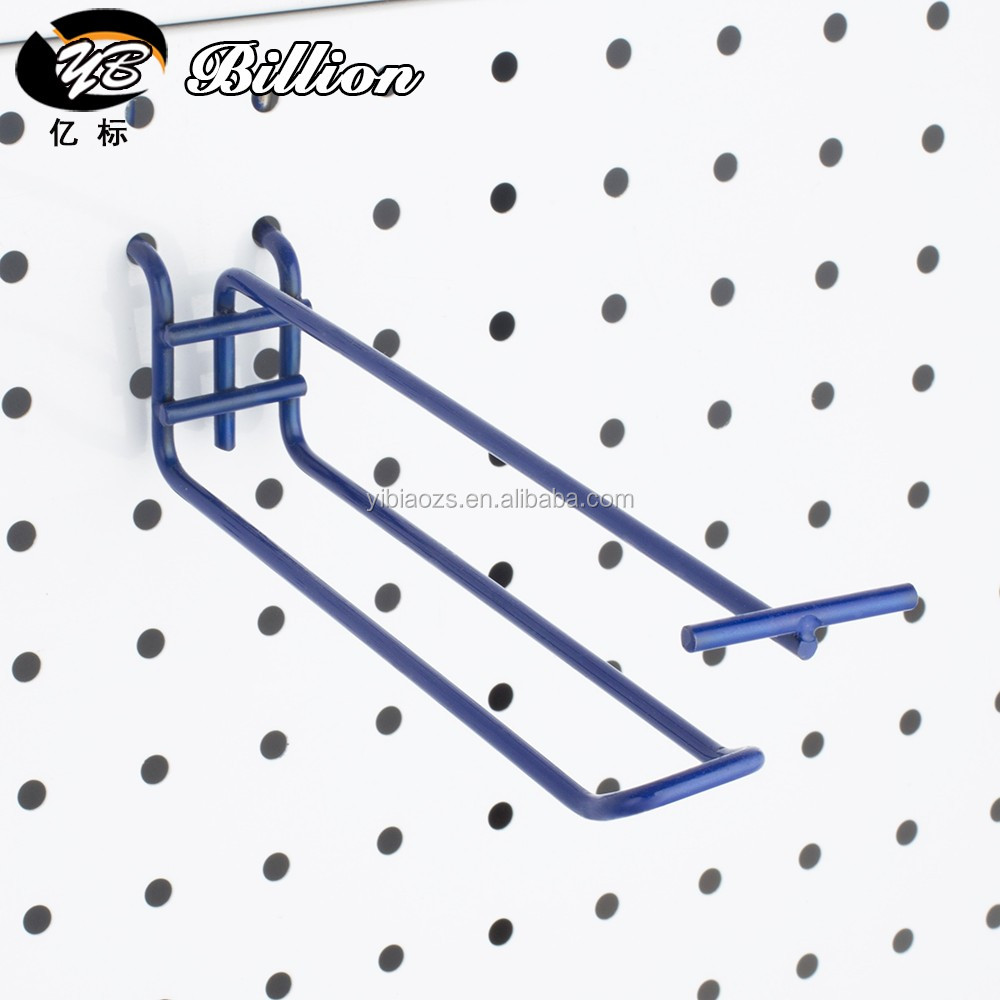 shop and store metal pegboard hooks retail pegboard euro hooks - Pegboard Hooks