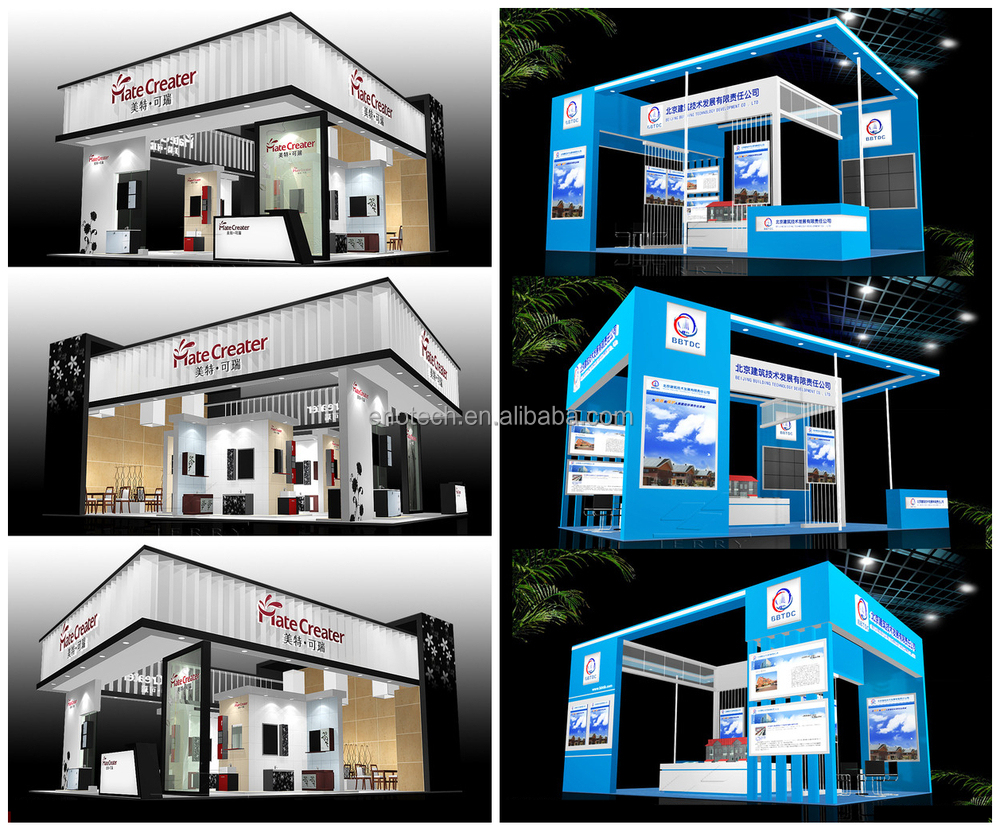 Booth Sizes For Exhibition : New portable trade show exhibition booth design