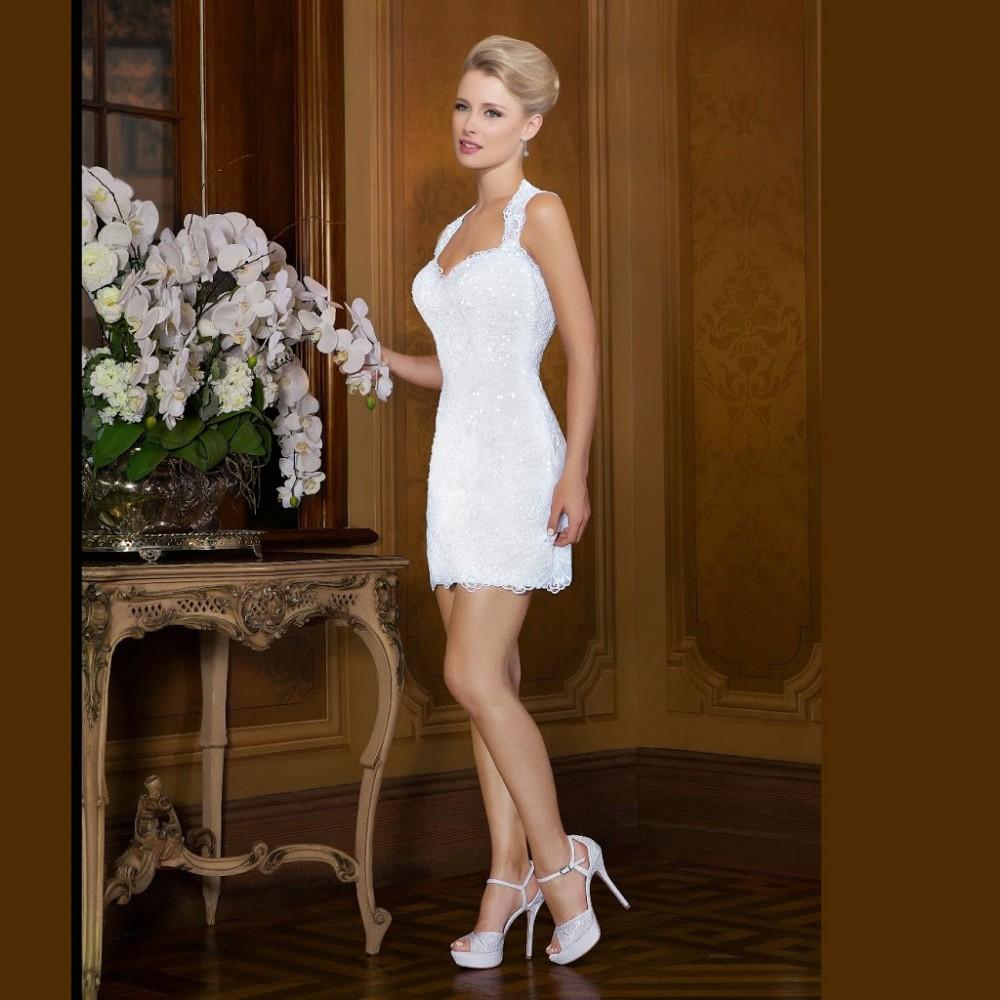 Brazil Sexy Applique Beaded Lace Wedding Dresses 2017 vestido de noiva 2 em 1 Plus Size White Long Bridal Gowns robe mariage CW7 9