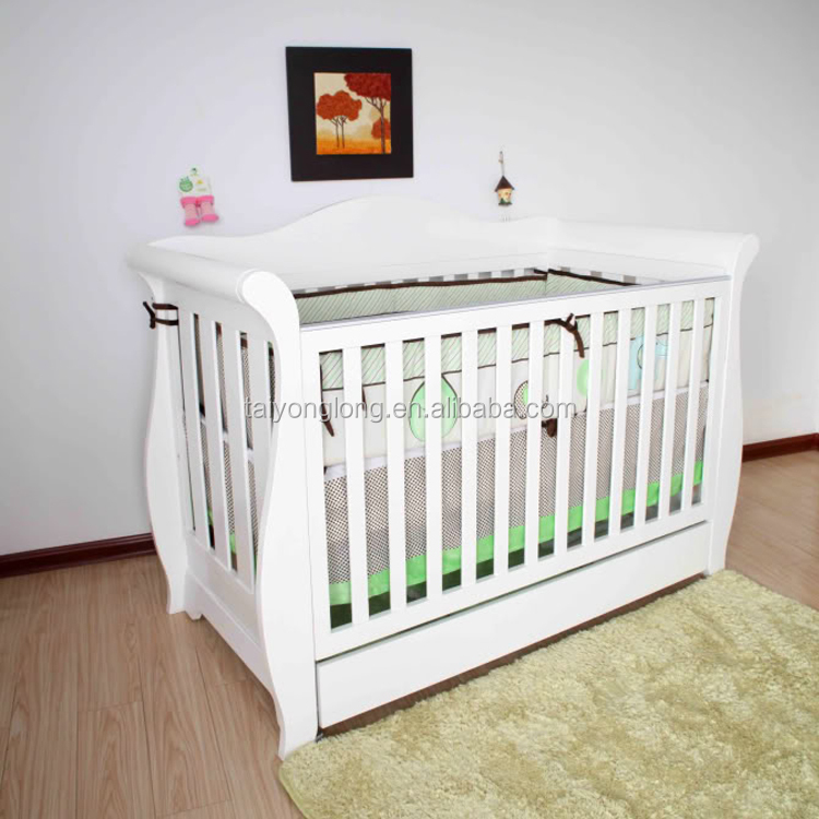 Deluxe 3 En 1 Bebé Trineo Cuna/cama De Bebé/cuna - Buy 3 En 1 Cuna ...