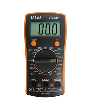Cheap Backlight display digital multimeter a830l manual Data Hold