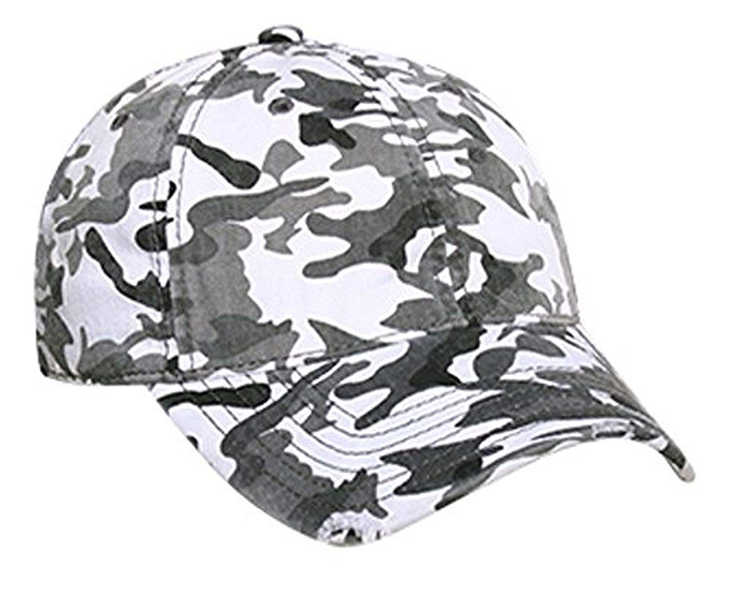 Hats & Caps Shop Camouflage Superior Garment Washed Cn Twill Distressed Visor - By TheTargetBuys