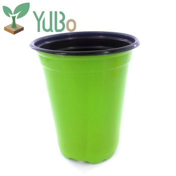 Decoration plastic flower pot garden accessory good quality garden flower pots