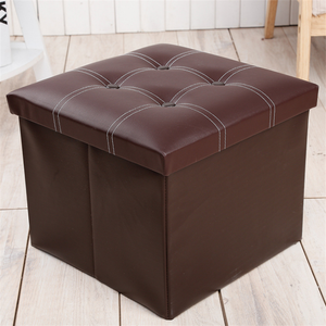White Ottoman Storage Box Storage Ottoman Cube Footstool With Storage