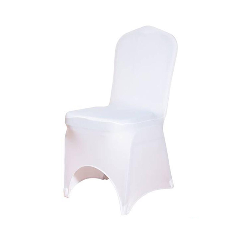 Outstanding Cheap White Universal Arch Front Polyester Stretch Spandex Banquet Chair Slipcovers Wedding Chair Covers Buy Chair Cover Wedding Chair Covers Pabps2019 Chair Design Images Pabps2019Com