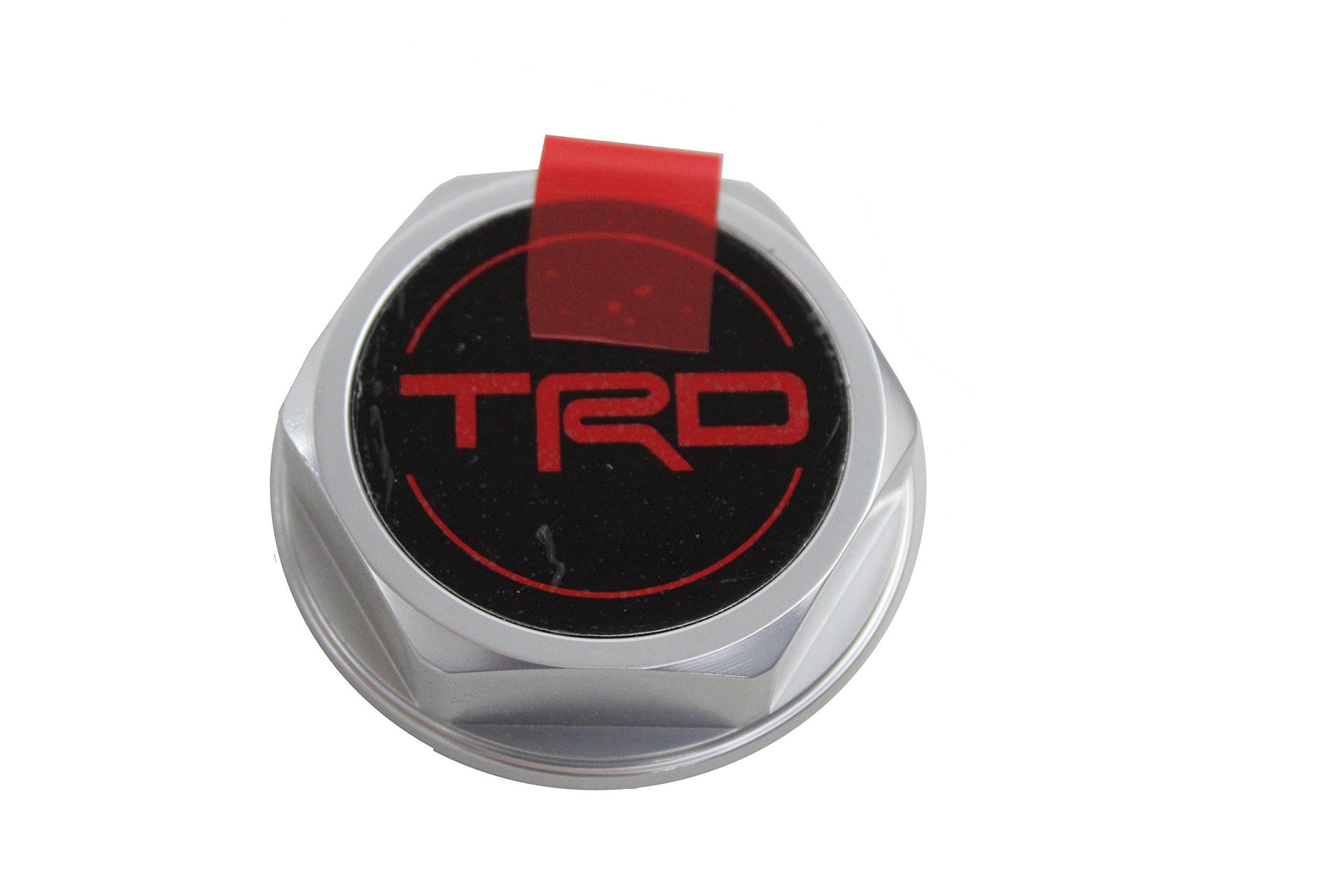 Genuine Toyota Accessories PTR35-00070 Forged Billet Aluminum TRD Oil Cap