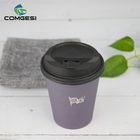 China Wholesale Ecological Healthy Biodegradable Design Your Own16oz Paper Coffee Cups Making Factory