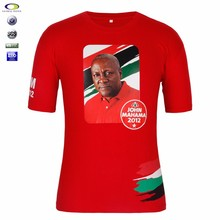 100 cotton custom cheap election campaign t shirt printing