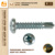 Pan head self drilling screw,white,blue,yellow zinc plated,tornillos autoperforantes
