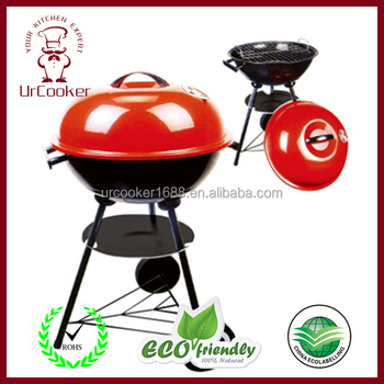 Hza-15 Apple-shape Small Bbq Grill,Stainless Steel Park Grills ...