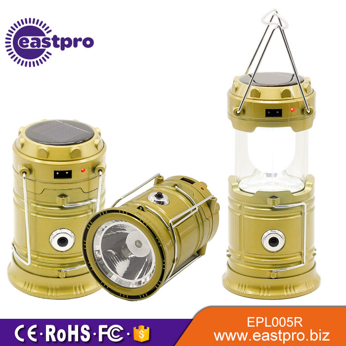 Li battery led solar lantern with mobile phone charger,solar camping light,rechargeable lantern solar