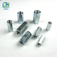 factory price m25 ansi b18.2.2 long stainless steel hex nut