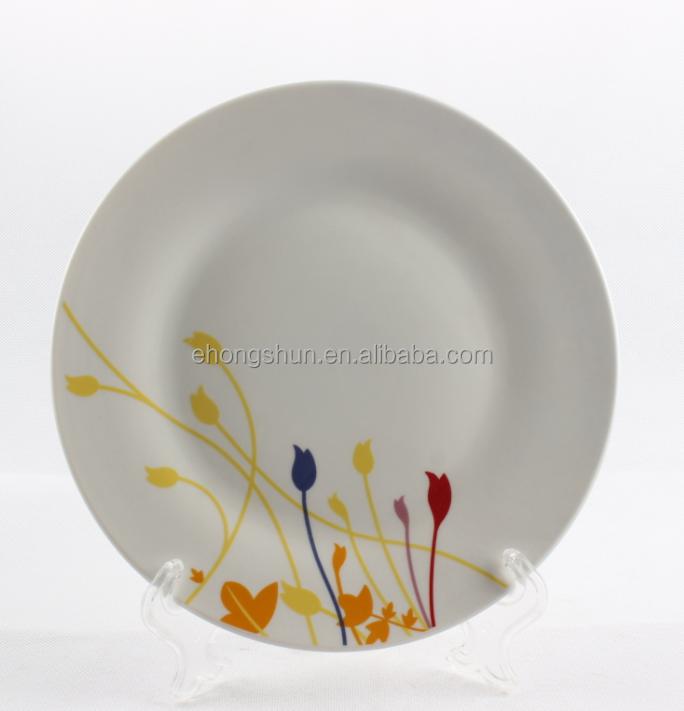 Acciones vajilla platos de cer mica placa de porcelana - Platos porcelana blanca ...