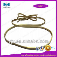 buy metallic flat strench loop bow