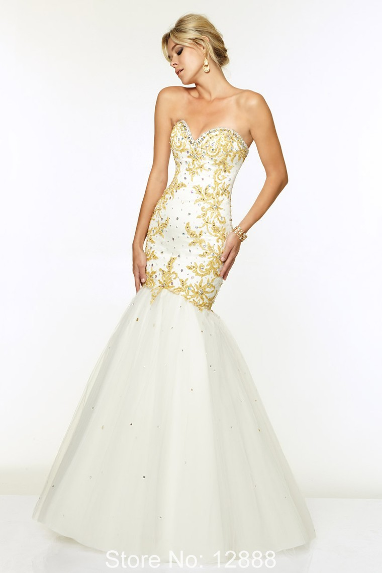 Cheap Gold Evening Gowns, find Gold Evening Gowns deals on line at ...