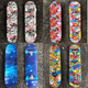 Brand Colorful Pattern Longboard Flying Skateboard Complete Deck Wood Deck Skate Board Outdoor Extreme Sports Long Board