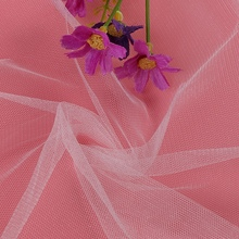 100% 20D Polyester Tulle Mesh Fabric For India Wedding Dress Material