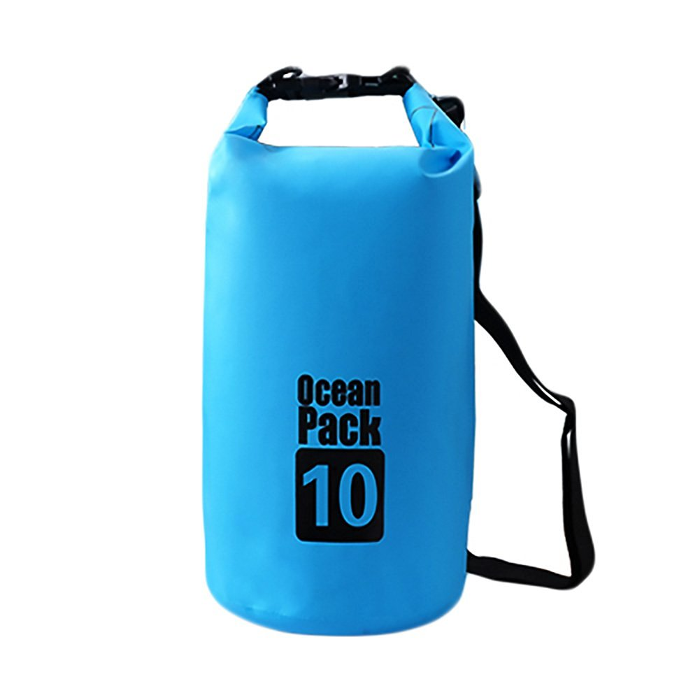 9f7a0a9c9ce9 Get Quotations · Waterproof Dry Bag Lightweight Dry Sack Floating Dry Gear  Bags Backpacks with Shoulder Strap Roll Top