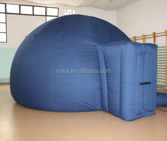 High quality portable star projector inflatable planetarium dome tent
