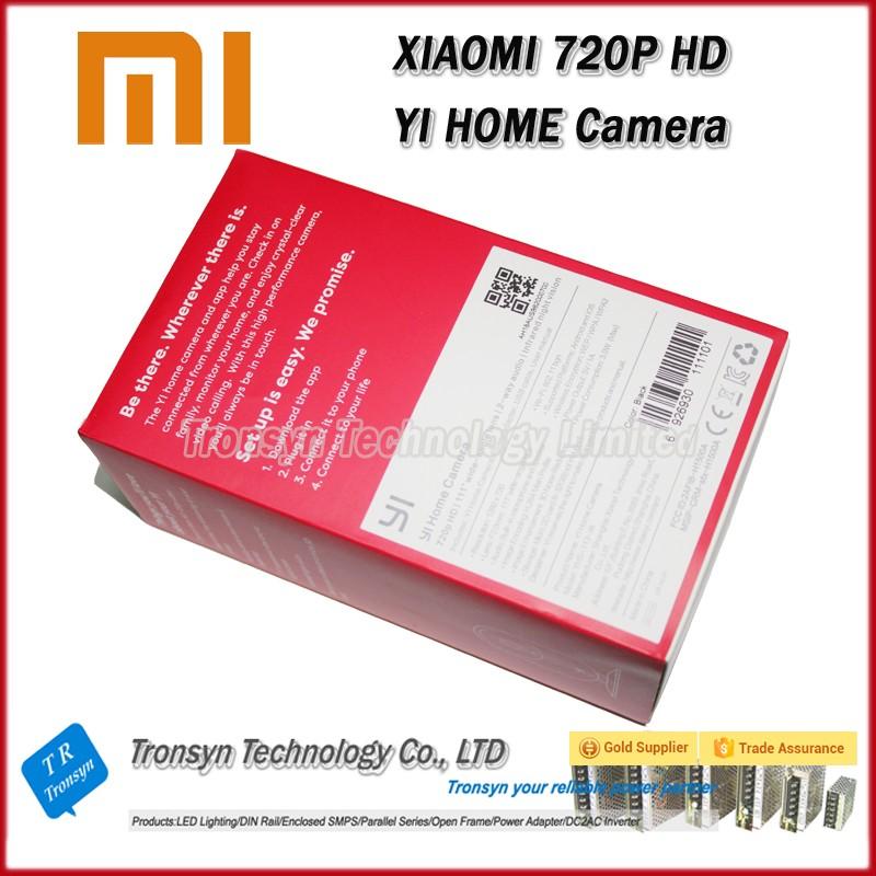 Yi Home Camera Wireless Wifi Hd 720p Infrared Night Web Xiaoyi Ip Home  Security Camera System - Buy Home Security Camera System,Xiaoyi Ip Home