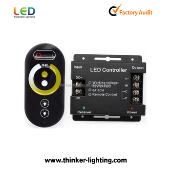 12 volt rf led afstandsbediening 12a dimmer voor 5050 3528 led strip verlichting