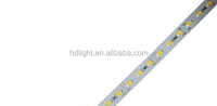 Bar 7020 Rigid LedLight Waterproof Cool White SMD 7020 Aluminum Strip DC12V 72 Leds/pc