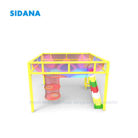 Customized Kids Indoor Soft Playground Colorful Climbing Honeycomb Net