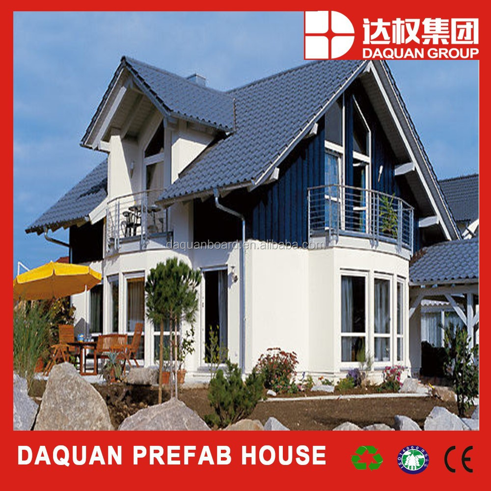Wuhan daquan 100m2 modern design house plans prefab homes made by eps cement sandwich panel buy prefab homes product on alibaba com