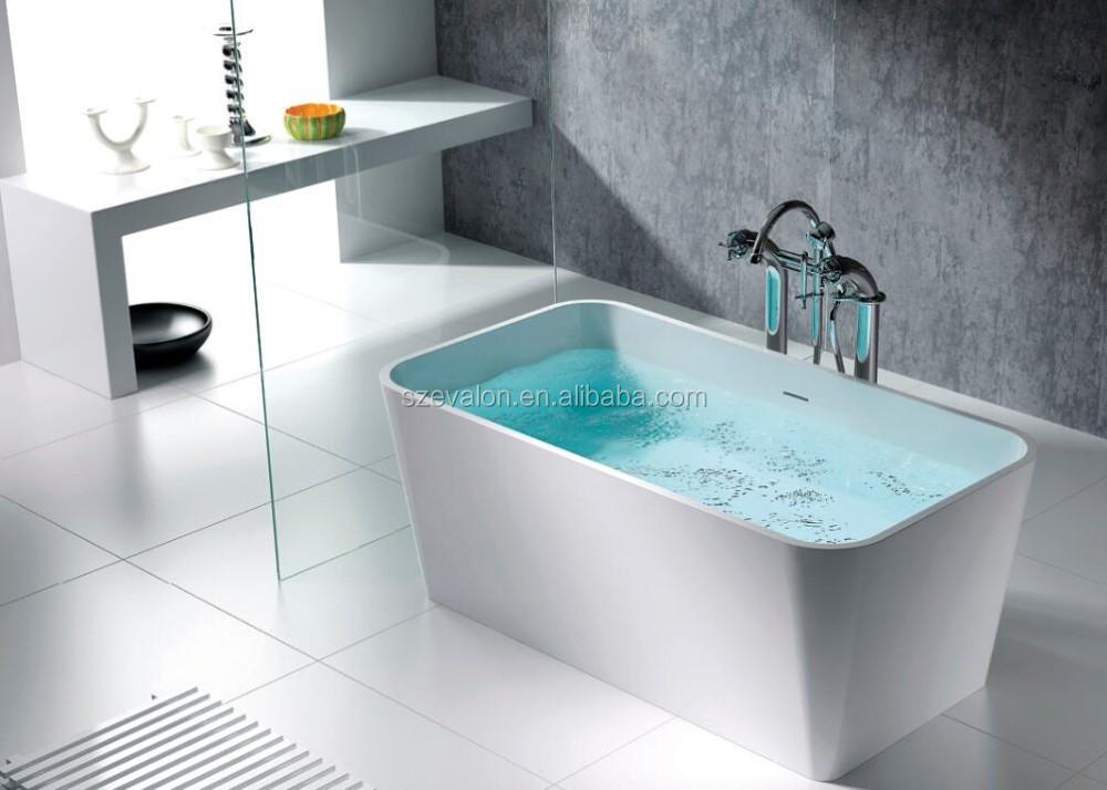 Royal Luxury Small Deep Acrylic Bathtub,Solid Surface Bathtub,Free ...