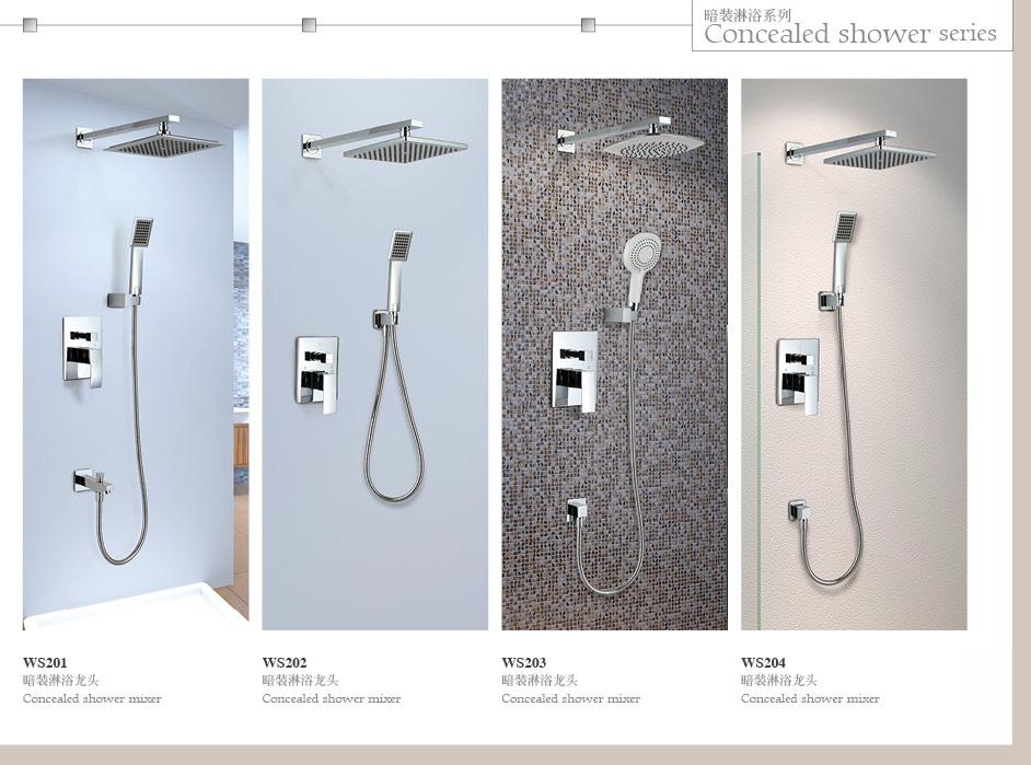 bathroom shower set brass hidden shower mixer buy hidden. Black Bedroom Furniture Sets. Home Design Ideas