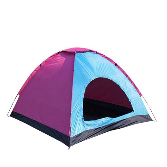 049e28ad3 Personalizado 4 3 pessoa barraca de camping barraca de acampamento ao ar  livre barraca de acampamento