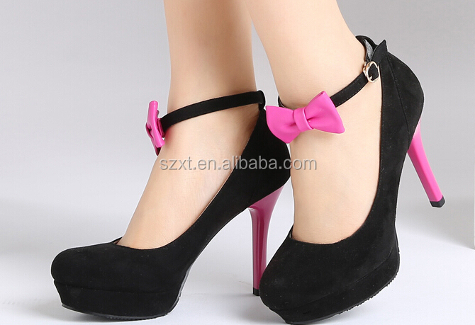 Sweet High Heel Shoes With Bow Teen Fashion Shoes Wenzhou Shoes ...