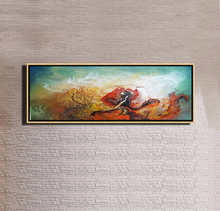 wholesale wood picture frames Wall Art Abstract Oil Painting