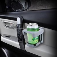Portable Universal Car Auto Drink Beverage Can Holder for Length under 7.5cm